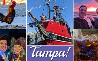 Weekend in Tampa! — Pirates, Chickens, and More!